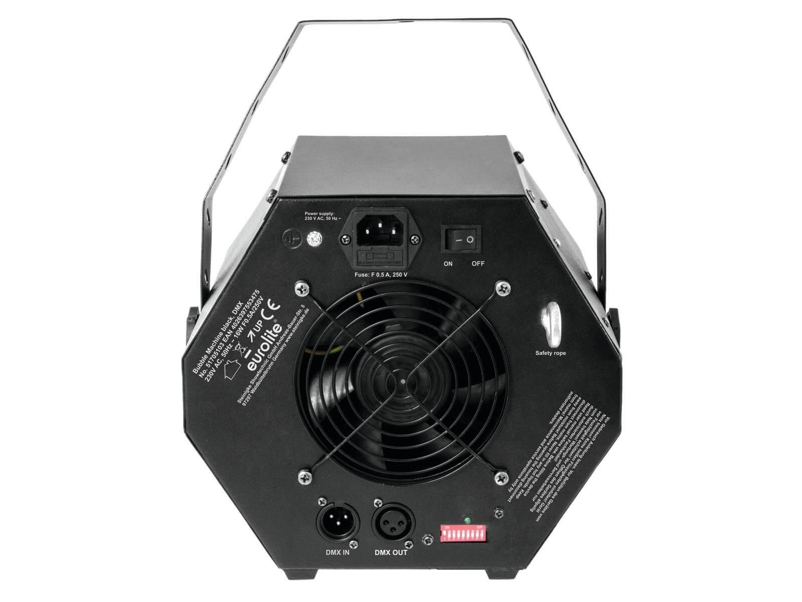 Eurolite B-100 Bubble Machine (Black) | Buy at Simply ...