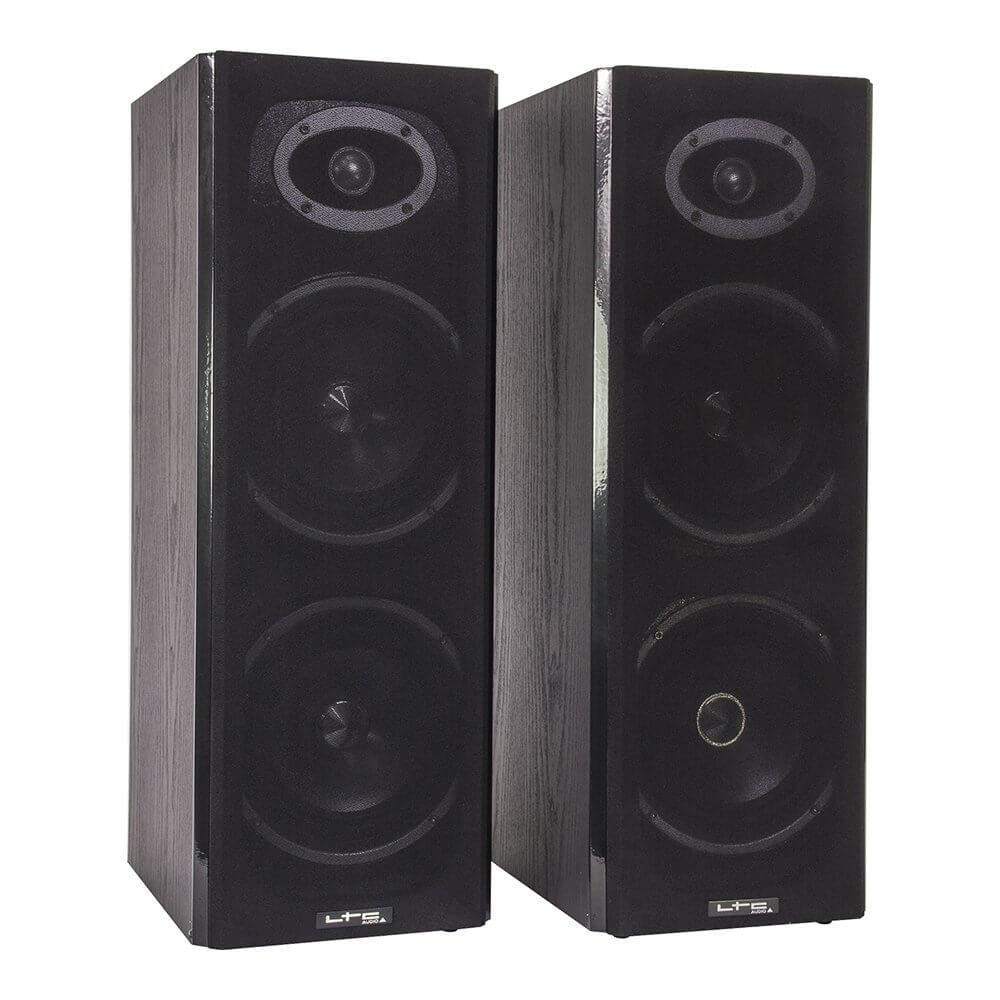 ltc karaoke sound system 200w usb sd 2 x wireless mic