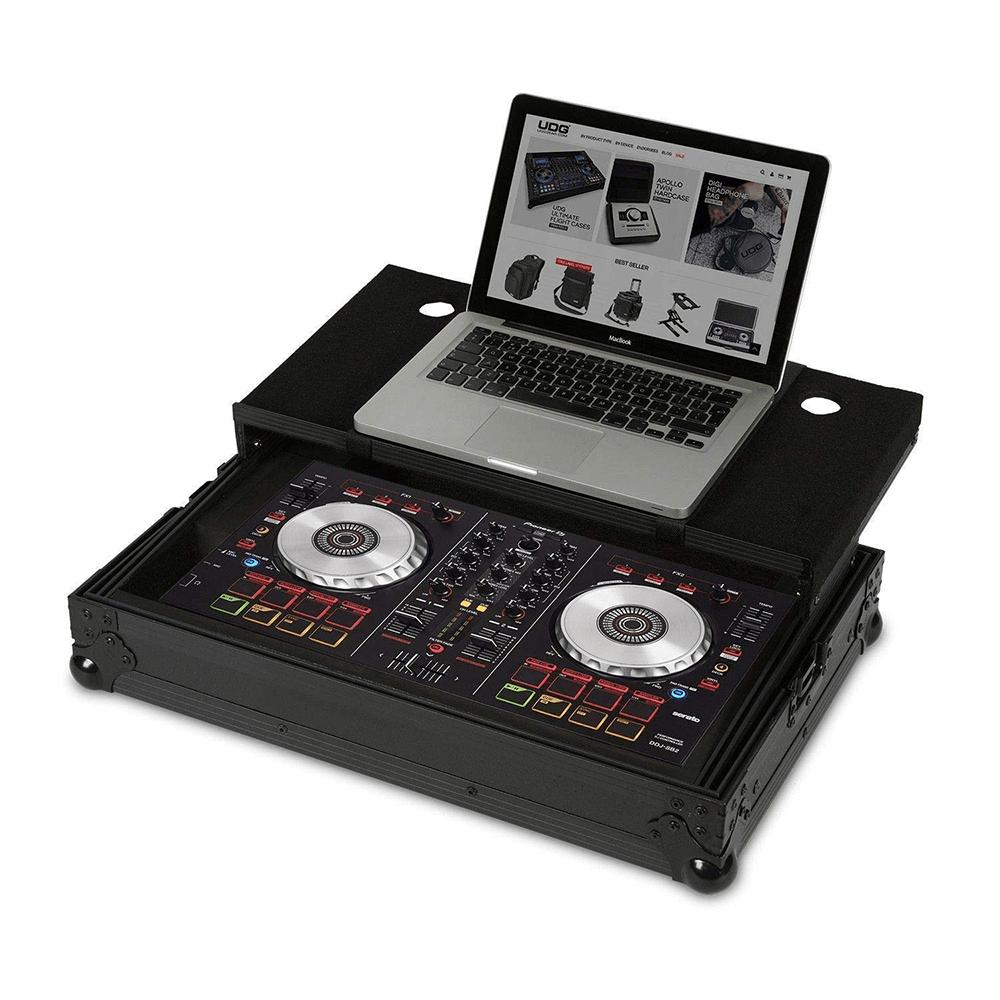 UDG Flightcase for DDJ-400/SB3/SB2/RB and Laptop (Black)