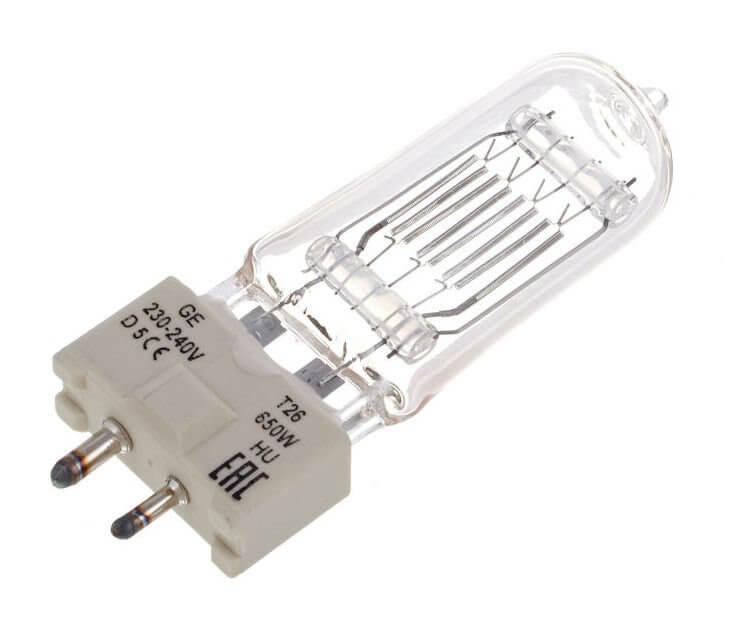 GE 650W T26 Lamp