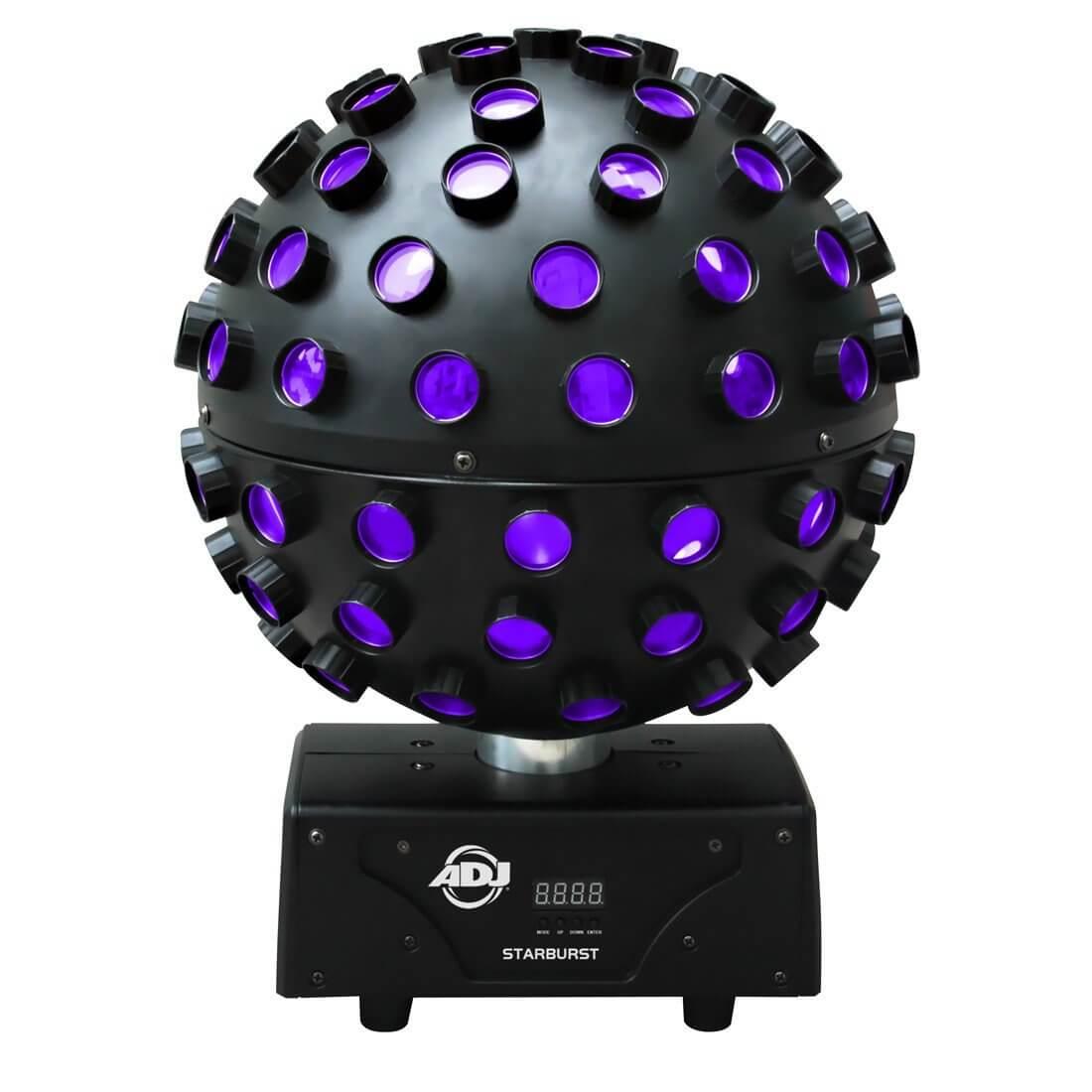 ADJ Starburst 5 x 15W RGBWAP LED Mirror Ball Effect