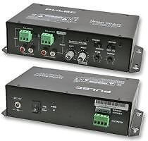 Pulse SDA40 Stereo Compact Install Amplifier for venue bar church hall 2 x 20W