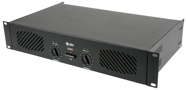 QTX Q480 Stereo Power Amplifier