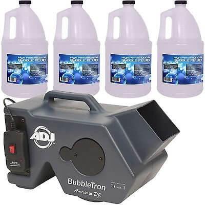 ADJ Bubbletron Bubble Machine inc. Remote & 20L Fluid