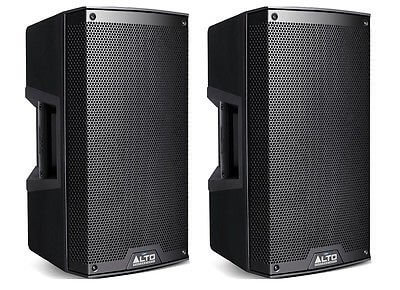 "2x Alto Professional 1100w 10"" 2-Way Active Speakers"