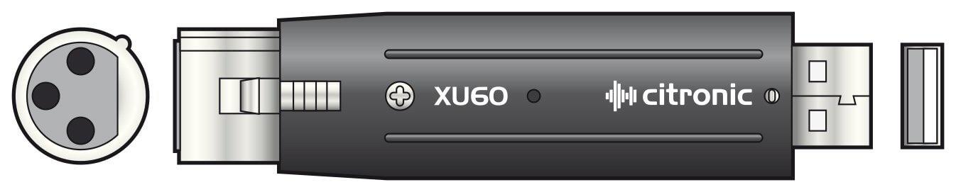 Citronic XLR to USB Adaptor Interface