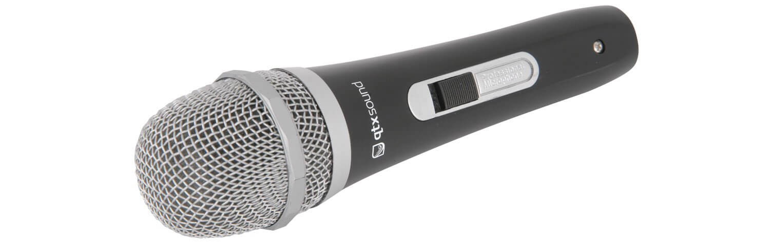 QTX DM12 DYNAMIC MICROPHONE