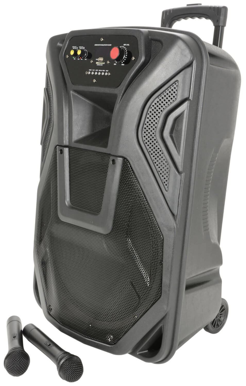QTX BUSKER PA WITH VHF MICS, MEDIA PLAYER & BLUETOOTH® QK15PA