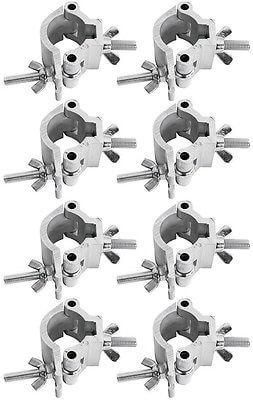 8x Chauvet DJ Half Coupler Truss Clamp (48mm - 51mm)