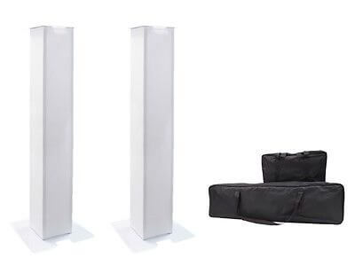 2x Equinox Moving Head Plinth Kit (1.5M) inc. Carry Bags