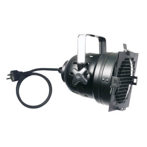 Showtec PAR 56 Short Black 300w Lighting Can Light Shucko Connector