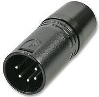 DMX terminator XLR plug 5 pin x 2