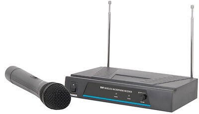 QTX Sound DJ VHF handheld mic wireless microphone- 173.8MHz