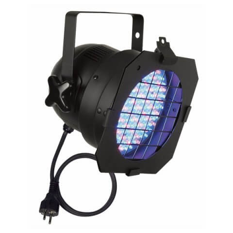 Showtec LED PAR 56 Short Black inc Gel Frame