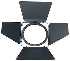 PAR 64 Black Barndoor Shutter Flap Barn Door Stage Theatre Lighting