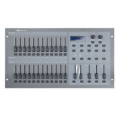 Showtec Lighting Desk SC-2412 24ch DMX controller for Theatre
