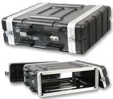 "Pulse ABS-3U 19"" Rack ABS Flight Case - 3U"