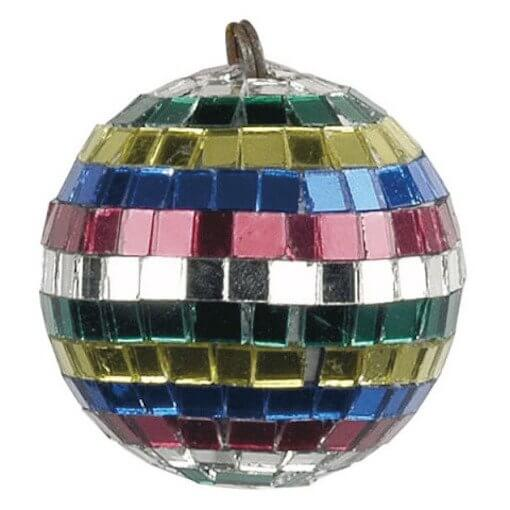 Showtec 5cm Multi Coloured Mirrorball Mirror Ball