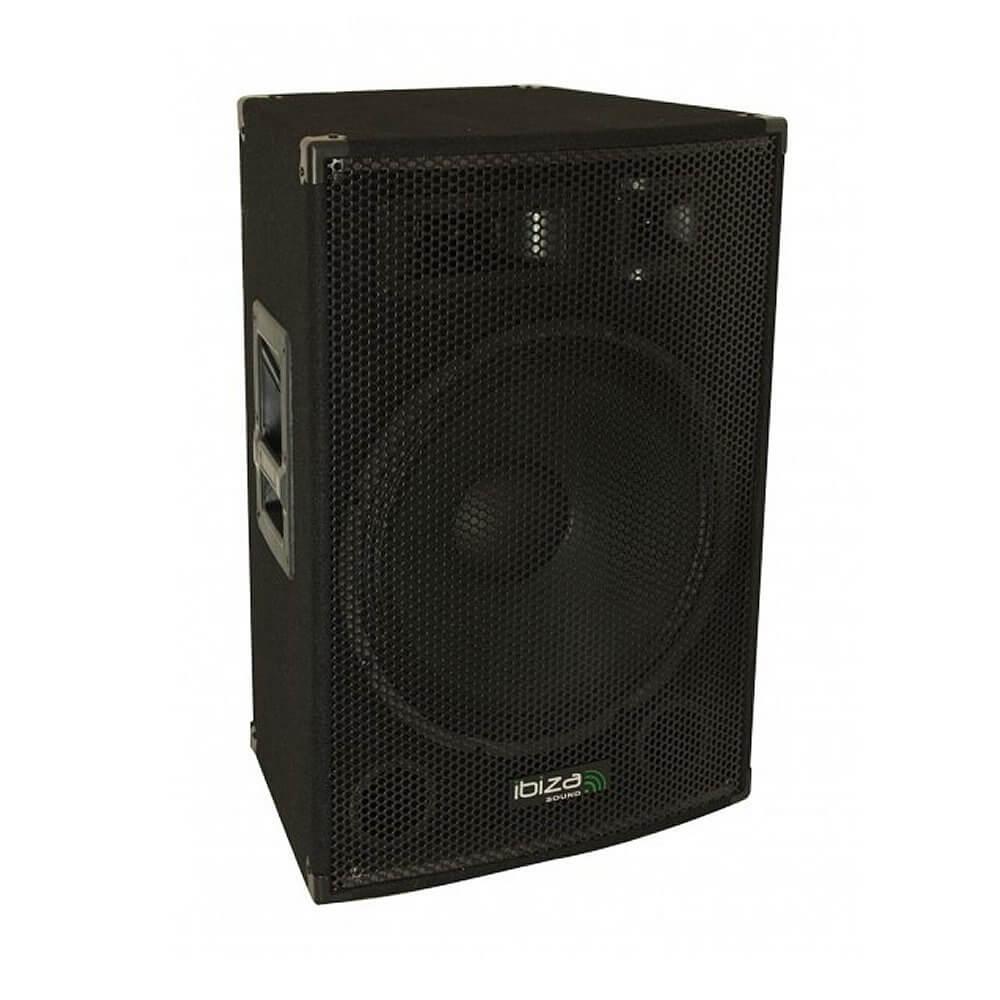 "IBIZA SOUND 15"" 800W 3-WAY ACTIVE PA SPEAKER"