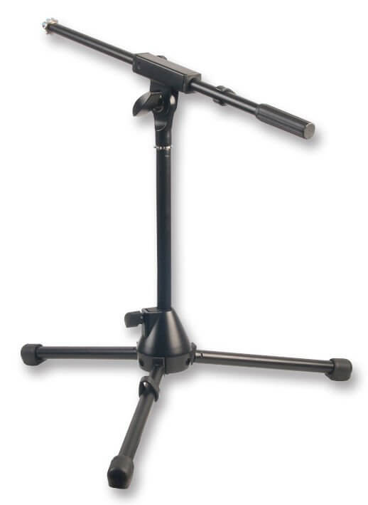 Pulse Microphone Boom Stand Short Kick Bass Snare Mic Stand