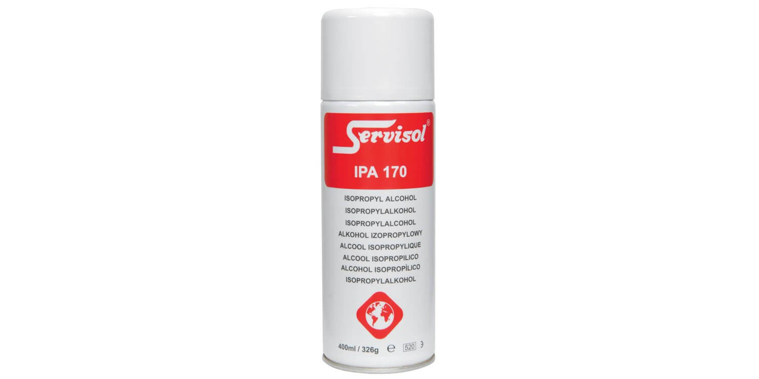 Servisol IPA 170 Isopropyl Alcohol Cleaning Spray