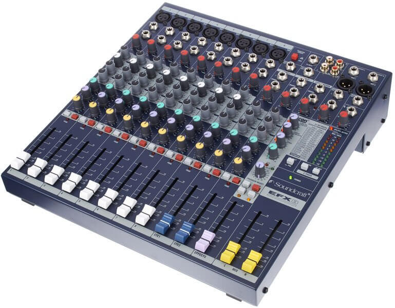 Soundcraft EFX8 Mixer inc Lexicon FX