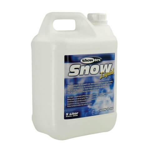 Showtec Snow Foam Fluid 5 Litres
