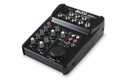 Alto Professional ZMX52 Compact 5 Channel FX Audio Mixer