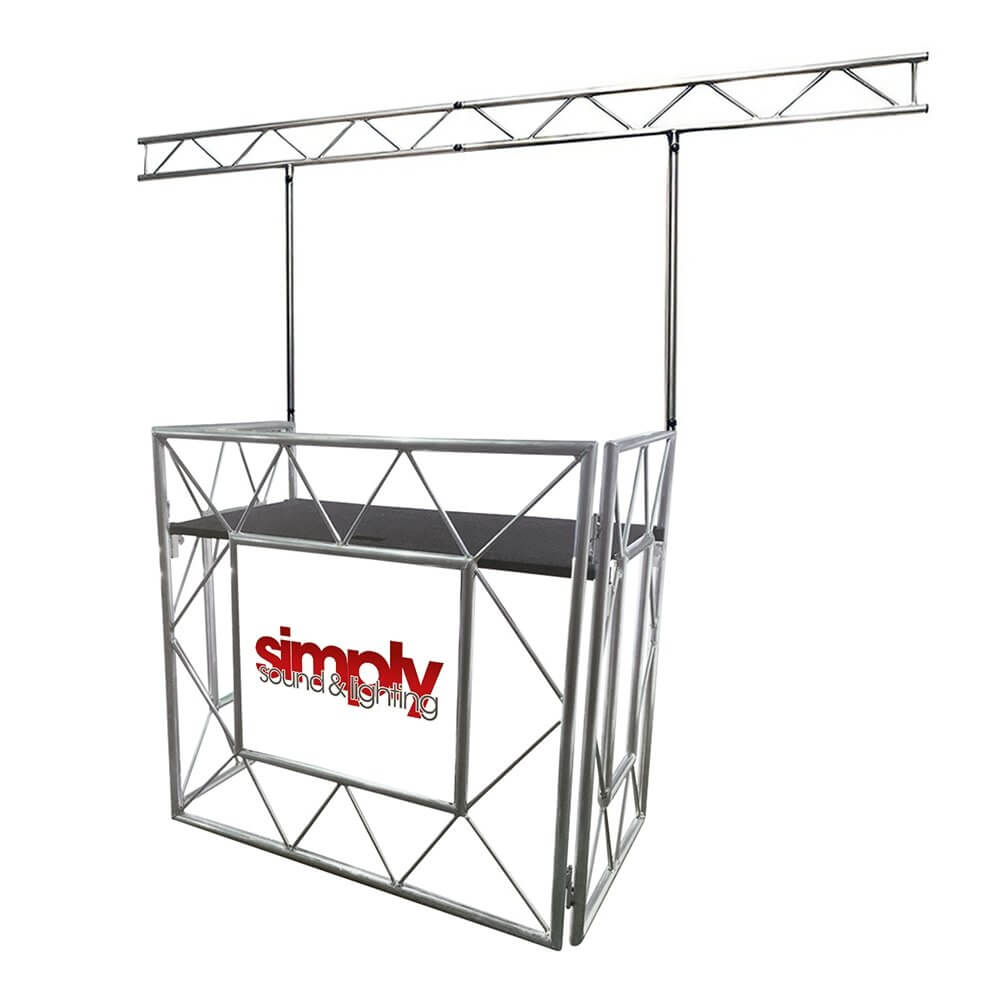 ADJ iBeam Overhead Lighting Gantry Truss inc. Equinox Truss Booth System