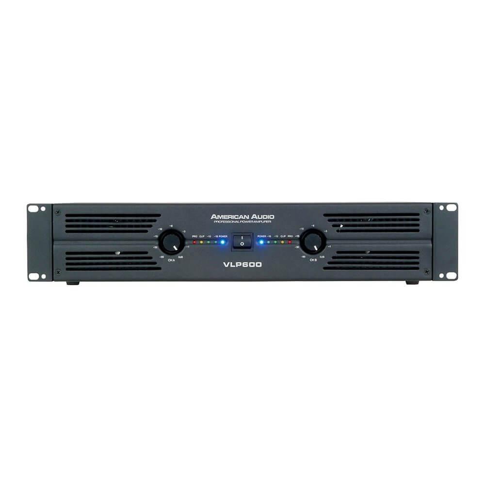 American Audio VPL600 Power Amplifier 600W DJ Disco PA Sound System