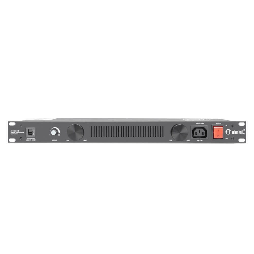 "Adam Hall 19"" Rack Power Conditioner inc LED Light"