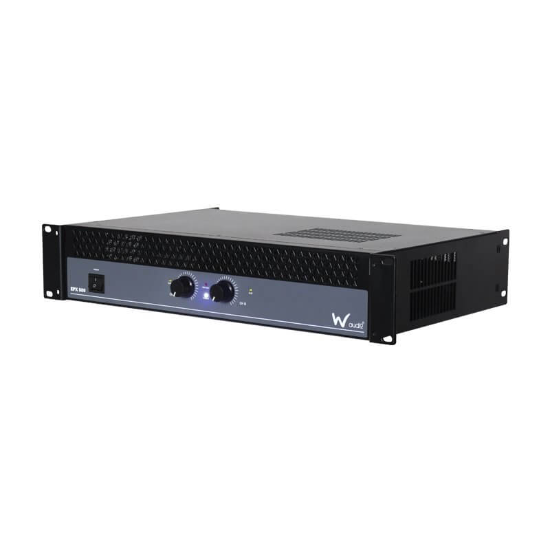 W Audio EPX500 Power Amplifier 2 x 250W