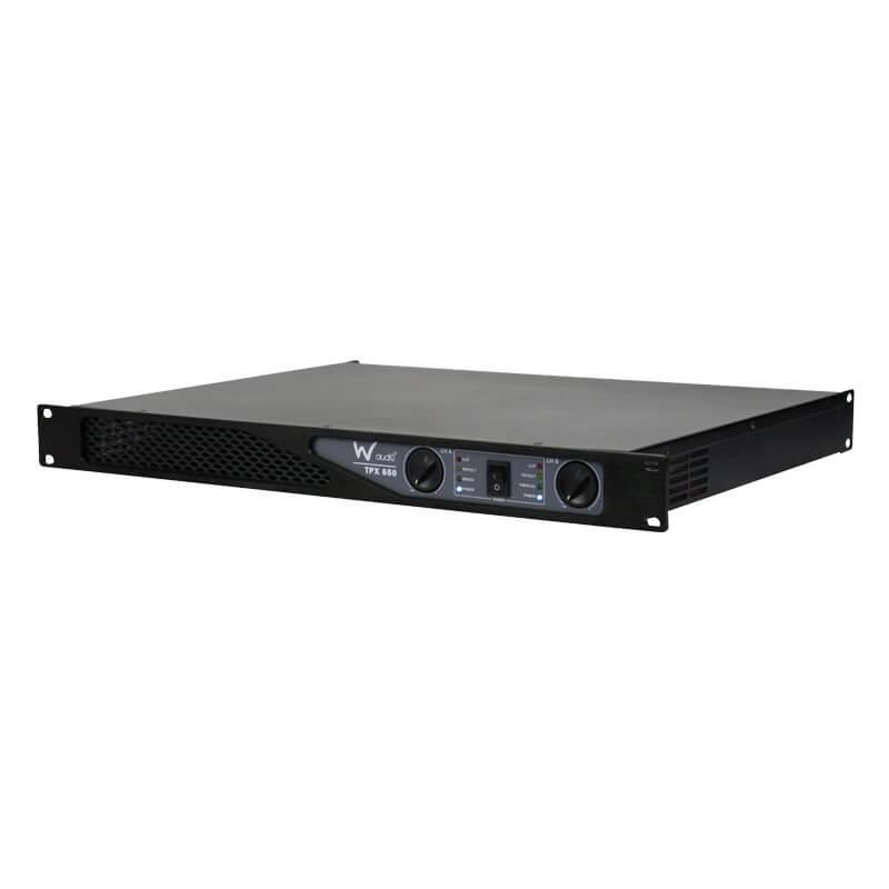 W Audio TPX-650 1U Power Amplifier 650W