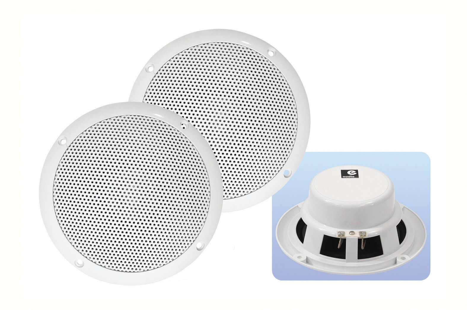 "E Audio B401 Pair of 5"" Ceiling Speaker"