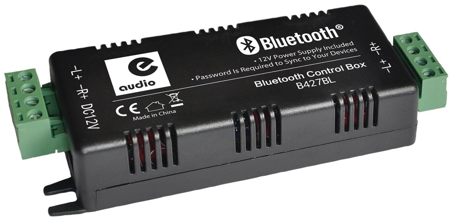 e-audio Bluetooth 4.0 Stereo Audio Amplifier 4 x 15W
