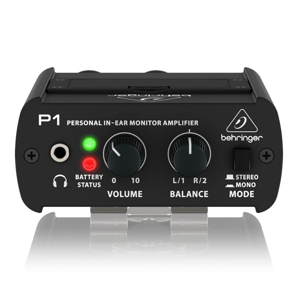 Behringer PowerPlay P1 Wired IEM Beltpack Stereo / Mono Active Headphone Amplifier