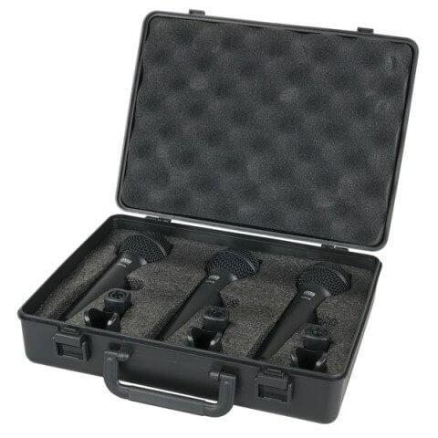 Dap audio PDM Pack - 3 Dynamic Microphones