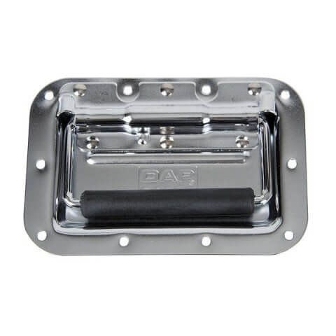 DAP Large Handle Silver Metal Polished Flightcase Hardware