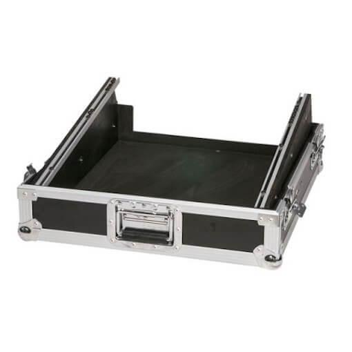 "DAP 19"" 12U Sloped Rack Mixer Flightcase"