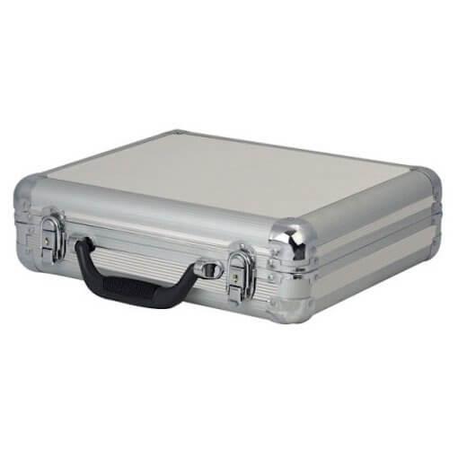 DAP Audio 7 Microphone Case Flightcase Silver