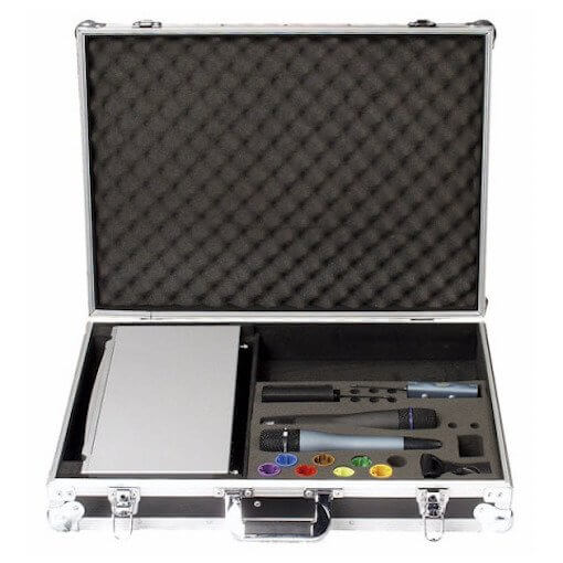Large DAP Wireless Foamed Microphone Flightcase for Dual Radio Mic