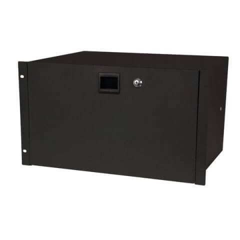 DAP 19 Inch Rack Drawer 6U Lockable