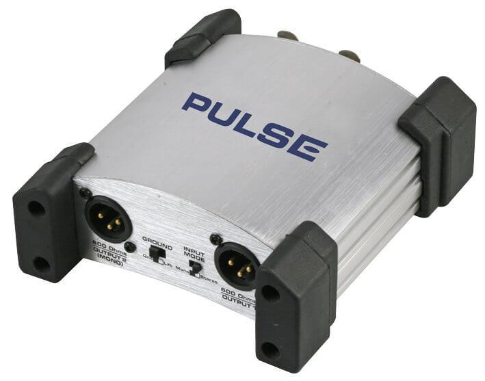 Pulse DIB-2P Dual Channel Passive DI Box