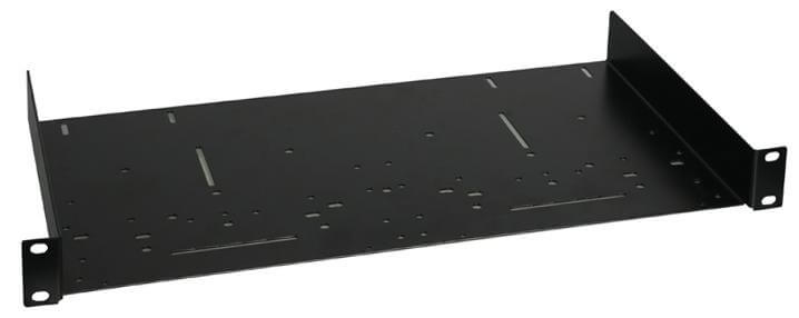 "19"" 2U Rack Shelf 2 U Rackmount Shelves Black New"
