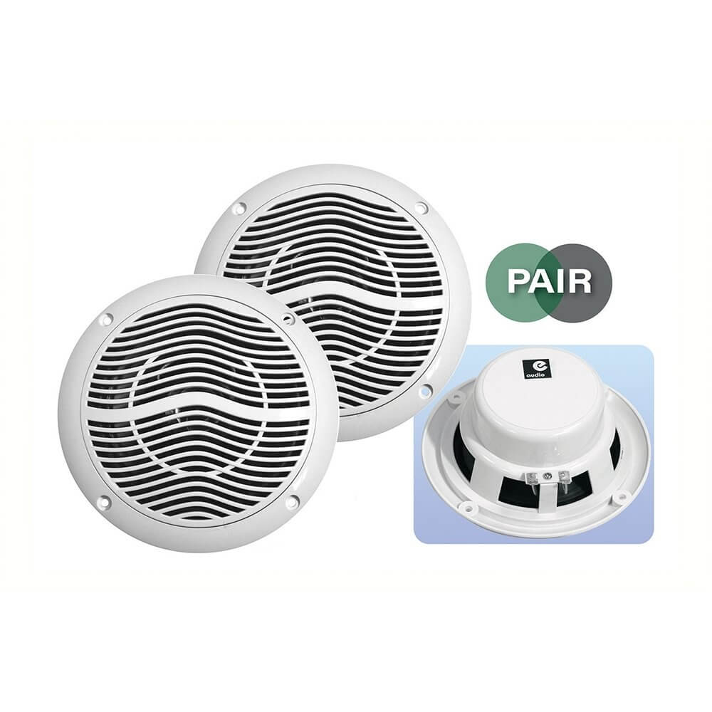 """E Audio Round Ceiling Speaker 5"""" 2 Way 4ohm 'Sold as Pair'"""
