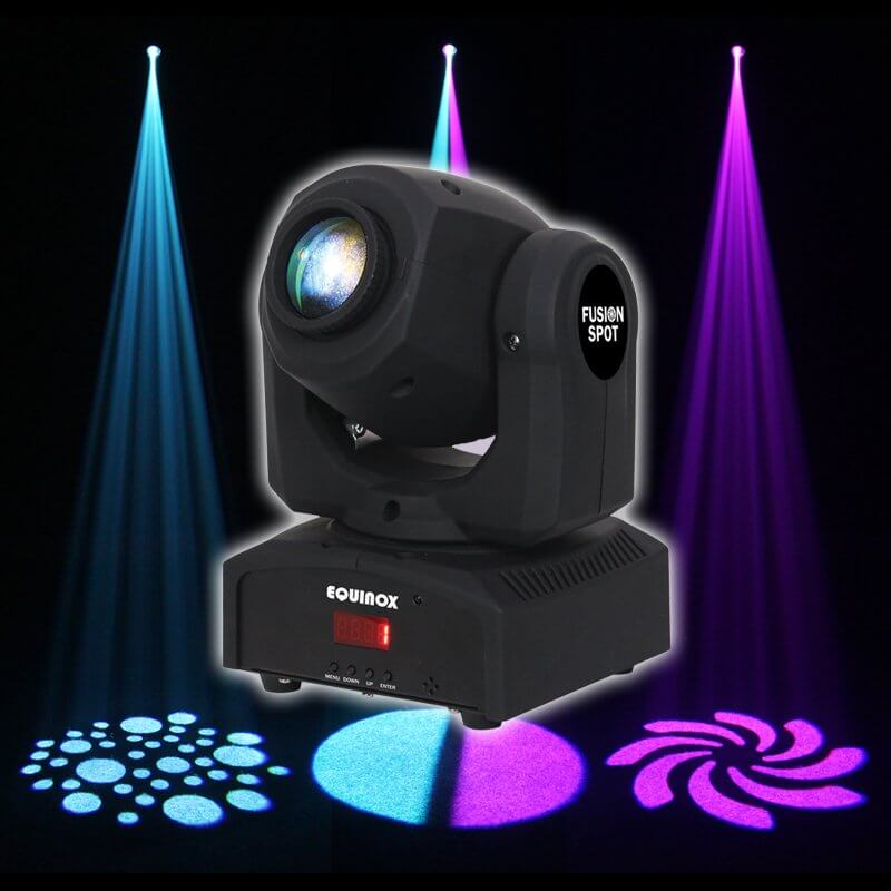 Equinox Fusion Spot MKII Black LED Moving Head