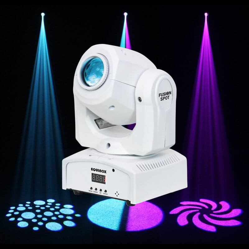 Equinox Fusion Spot White 12W LED Moving Head