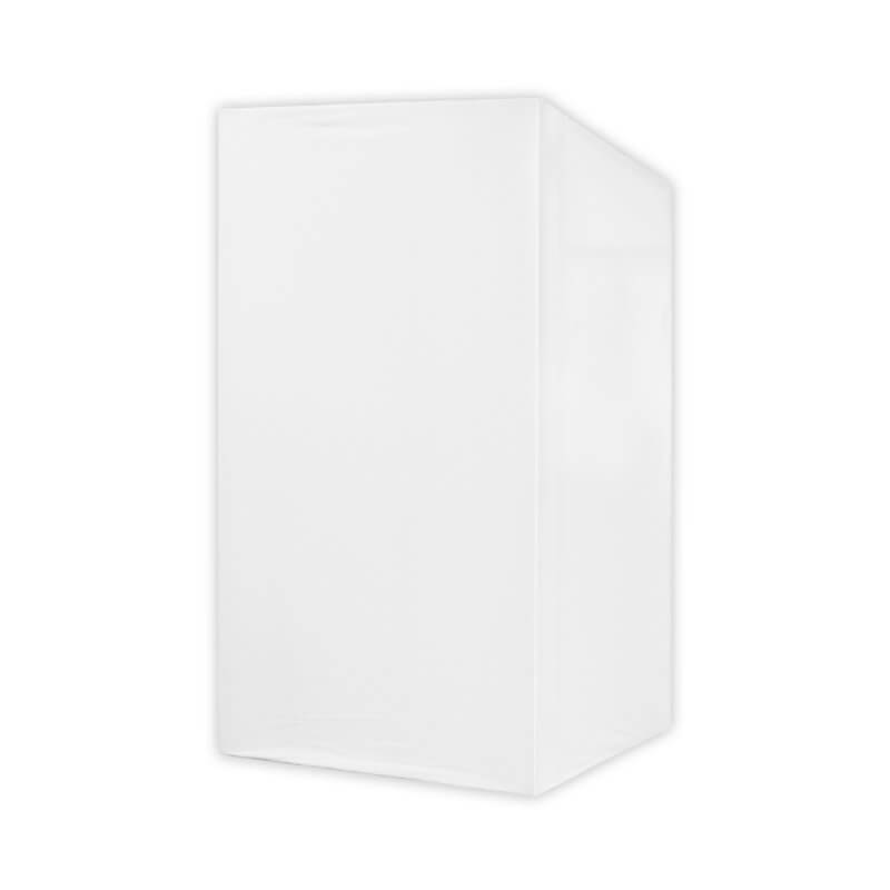 Equinox MICRON DJ Booth Replacement Lycra - White