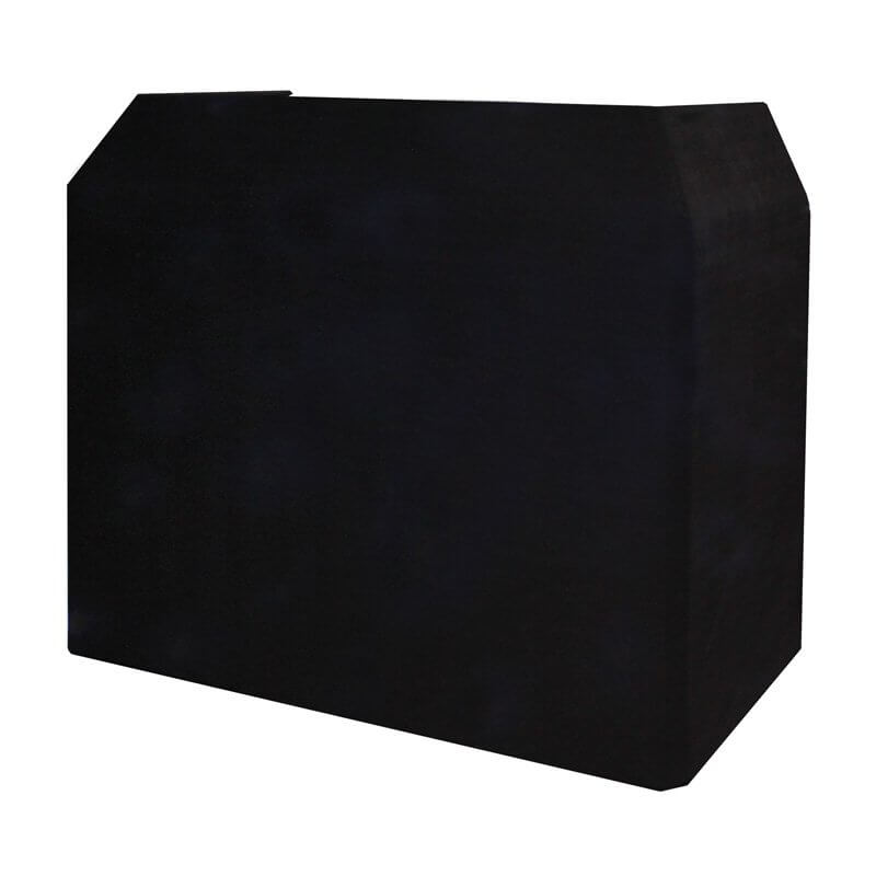 Equinox DJ Booth Black Professional Cloth