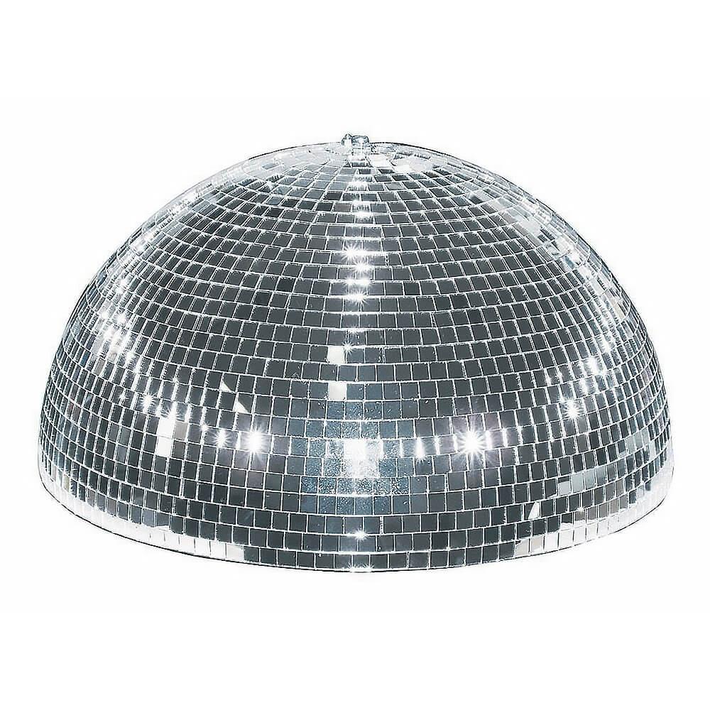 Eurolite Half Mirror Ball Motorised 20cm 200mm Disco Glitter Ball Party Mirrorball
